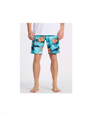 "T&C Surf Designs Billabong Sundays Airlite 19"" Boardshort - SGN,"