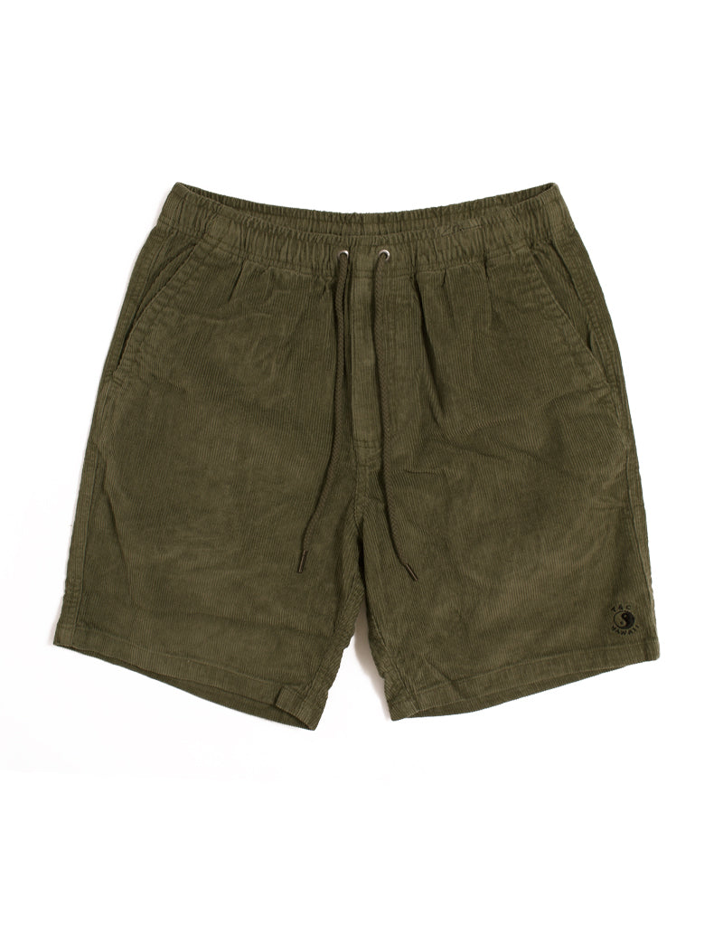 T&C Surf Designs T&C Surf Australia Whaler Cord Walkshort, 30 / Military Green