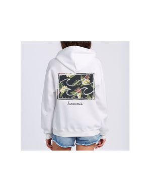 T&C Surf Designs Billabong Flower Logo Pullover Hoody, XS / SCS