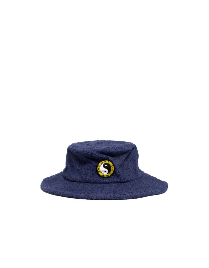 T&C Surf Designs T&C Surf Australia Terry Bucket Hat, OS / Navy