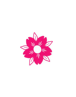 T&C Surf Designs Sakura Die Cut Sticker, Pink