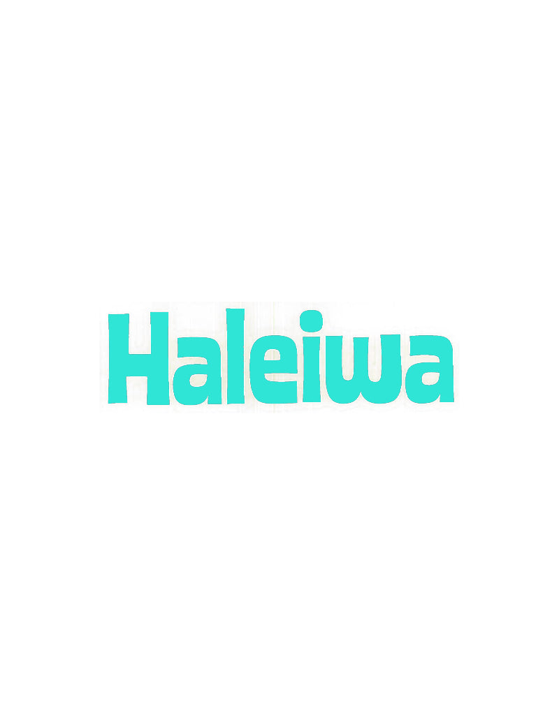 T&C Surf Designs Haleiwa Die Cut Sticker, Mint