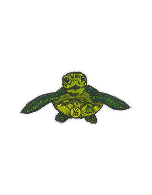 T&C Surf Designs Honu Island Sticker, One