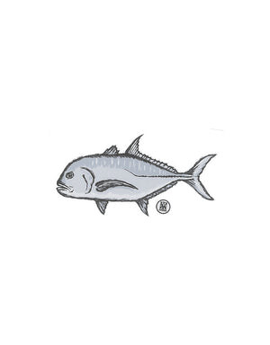 T&C Surf Designs Ulua Sticker, One