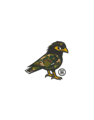 T&C Surf Designs Camo Mynah Sticker, One