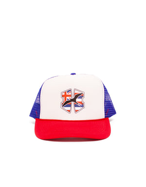 T&C Surf Designs H Icon 808 Flag Trucker, OS / Red White Blue