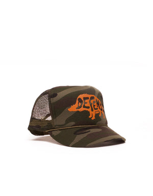 T&C Surf Designs Defend Pua'a Trucker, OS / Camo