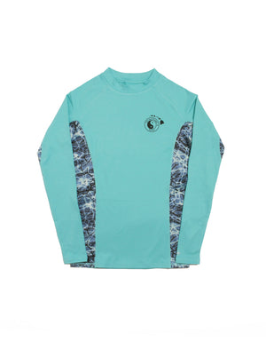 T&C Surf Designs T&C Surf Helm Pullover, S / Aqua