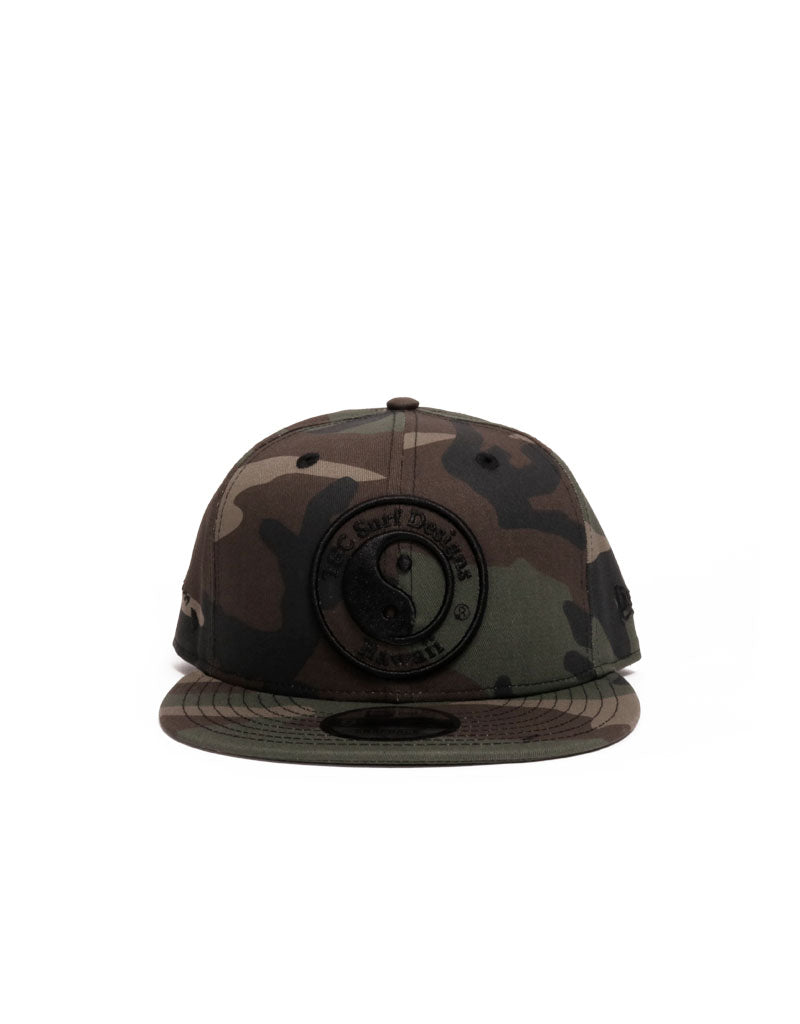 T&C Surf Designs T&C Surf New Era Raised Logo Snap, OS / Camo