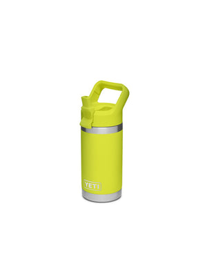 T&C Surf Designs Yeti Rambler Jr 12 oz Kids Bottle, Chartreuse