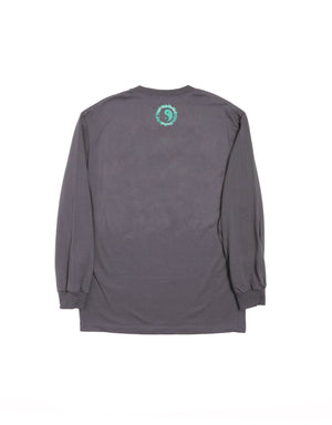 T&C Surf Designs T&C Surf Aloha St8 Long Sleeve, S / Charcoal