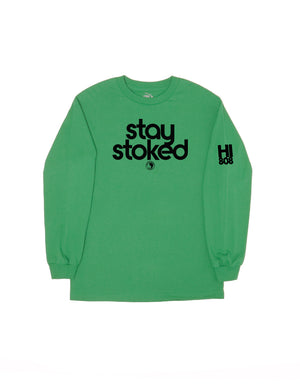 T&C Surf Designs T&C Surf Stay Stoked Long Sleeve, S / Kelly