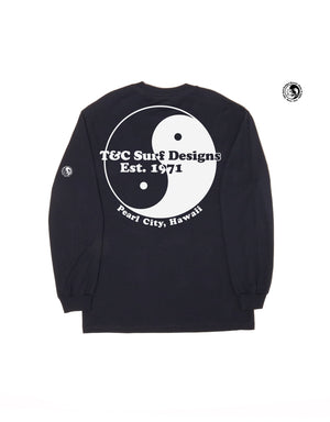 T&C Surf Designs T&C Surf 50 Year Giant Pearl Long Sleeve, S / Navy