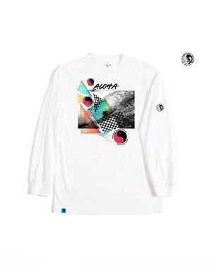 T&C Surf Designs T&C Surf 50 Year Navigate Long Sleeve, S / White