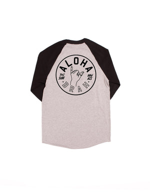T&C Surf Designs T&C Surf Aloha Brah Raglan, S / Athletic Black