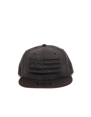 T&C Surf Designs New Era Flag Snap, OS / Black Black
