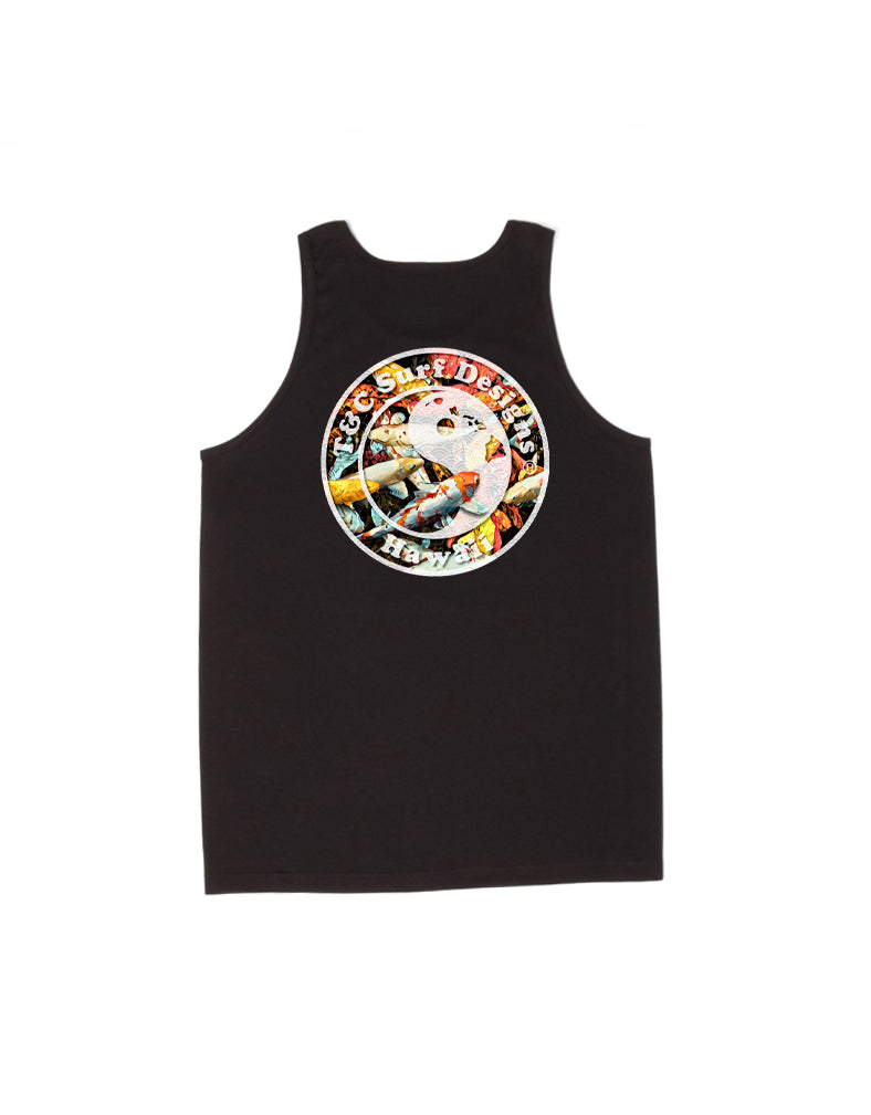 T&C Surf Designs T&C Surf Koi Logo Tank, S / Black