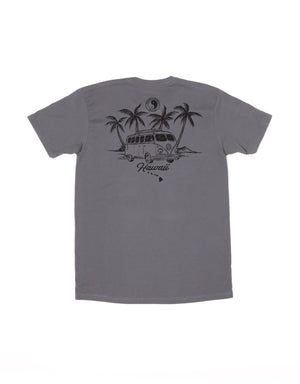 T&C Surf Designs T&C Surf Sketch Volkswagen Bus Two Jersey Tee, S / Charcoal