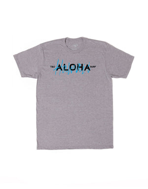 T&C Surf Designs T&C Surf Hawaii Aloha Jersey Tee, S / Graphite Heather