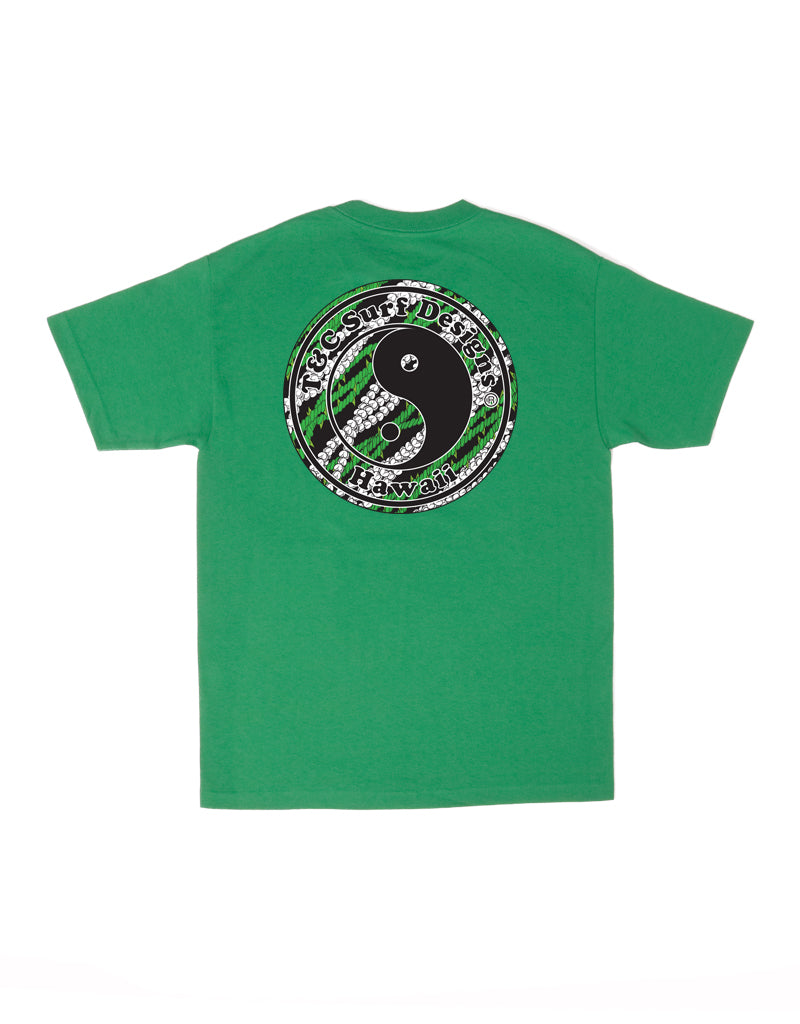 T&C Surf Designs T&C Surf Lei Logo Tee, S / Kelly