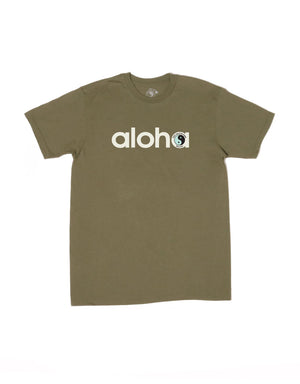 T&C Surf Designs T&C Surf Aloooha Jersey Tee, S / Military Green