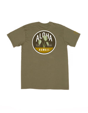 T&C Surf Designs T&C Surf Deep Roots Jersey Tee, S / Military Green
