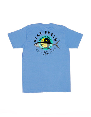 T&C Surf Designs T&C Surf Stay Fresh Jersey Tee, S / Royal Heather