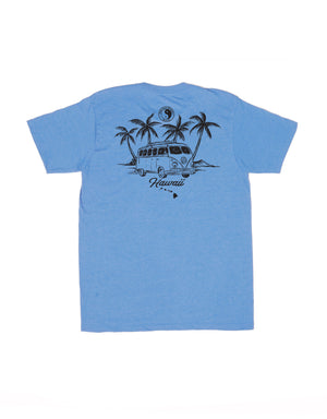 T&C Surf Designs Sketch Bus Two Jersey Tee, S / Royal Heather