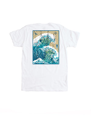 T&C Surf Designs T&C Surf Surfs Up Jersey Tee, S / White