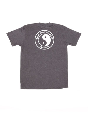 T&C Surf Designs T&C Surf New Positive ID Jersey Tee, S / Charcoal Heather