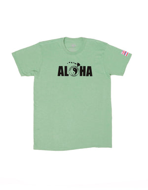 T&C Surf Designs T&C Surf Aloha Jersey Tee, S / Kelly Heather