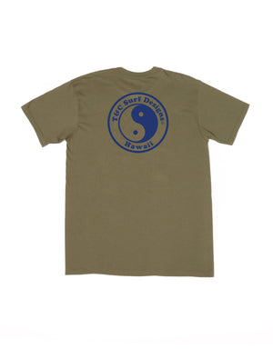 T&C Surf Designs New Positive ID Jersey Tee, S / Military Green