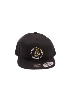 T&C Surf Designs Volcom Island Circle Snap, Black