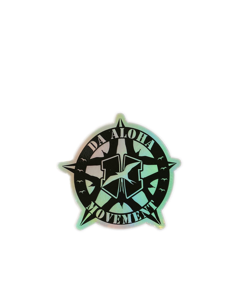"T&C Surf Designs H Icon 808 Badge Hologram 3.5"" Sticker, Hologram"