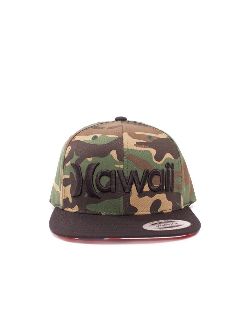 T&C Surf Designs Hurley Hawaii Snap Cap, OS / Camo
