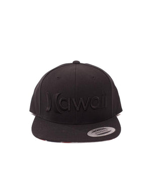 T&C Surf Designs Hurley Hawaii Snap Cap, OS / Black