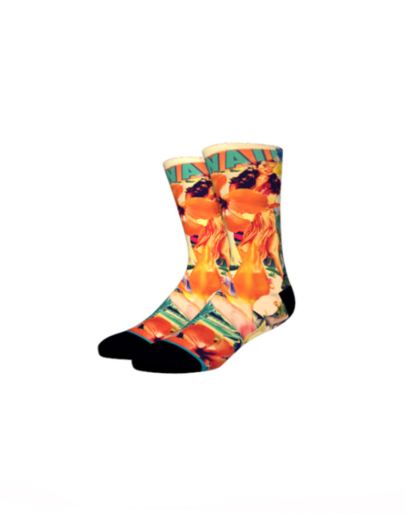 T&C Surf Designs Stance Men's Country Hawaii Sock, Mult / L