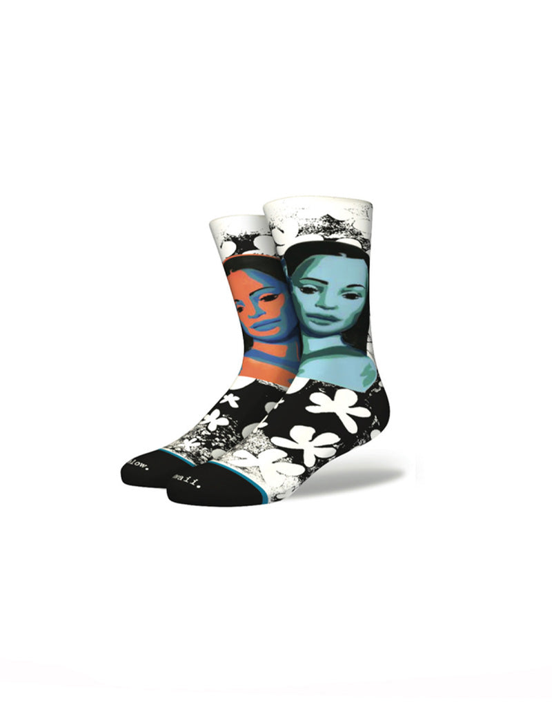 T&C Surf Designs Stance Men's Hi Puanani Hawaii Sock, Black / M