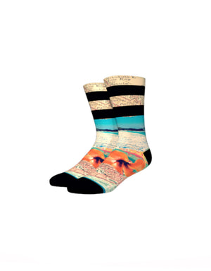 T&C Surf Designs Stance Men's Town Hawaii Sock, Mul / L