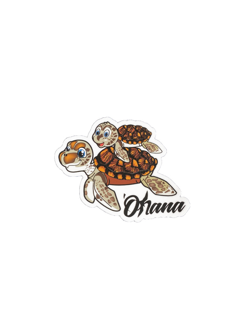 T&C Surf Designs H Icon 808 Honu Ohana Sticker, One