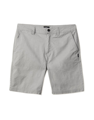 "T&C Surf Designs O'neill Jay Stretch 20"" Walkshort Light Grey, 28 / Light Grey"