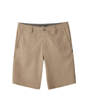"T&C Surf Designs O'Neill Locked Herringbone 20"" Walkshort, 29 / Khaki"