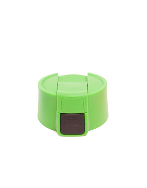 T&C Surf Designs Wide Button Flip Cap, Green