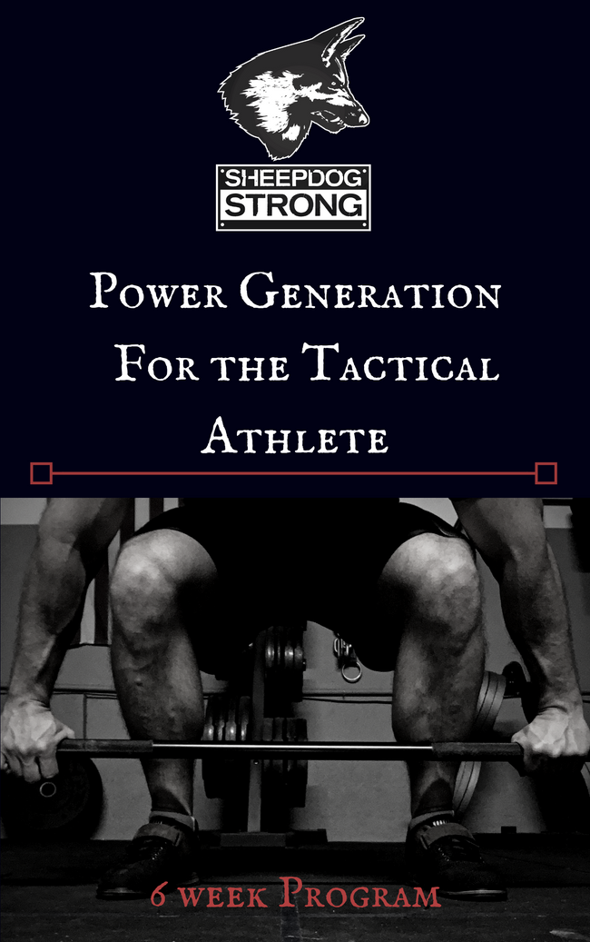 Power Program for the Tactical Athlete