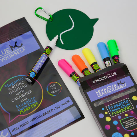 Green Bag-tag with Markers