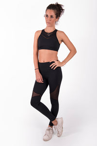 Leggings Power Mesh High Waist