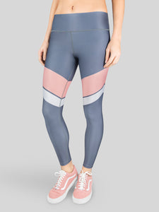 Leggings Silver High Waist