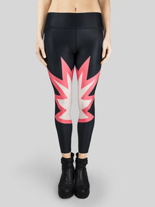 Leggings Comics High Waist
