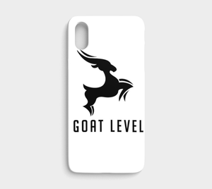 GOAT Level iPhone X case
