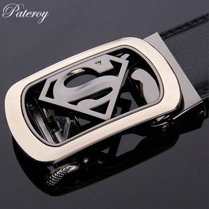 Men High Quality Leather Belt